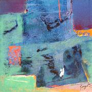 Goa 04 Oil on Canvas 11.5''x11.5'' 2007 ws