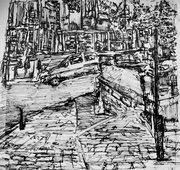 Landscape Drawings.