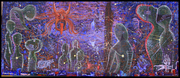 Spiritual Banishment. (120.5 inches by 51.5 inches)