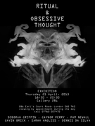 Ritual & Obsessive Thought Exhibition