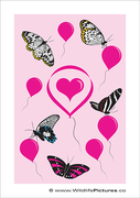 Balloons and Butterflies