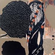 Sweet Libertine - mixed media on canvas - 2013 - 12%22 x 12%22