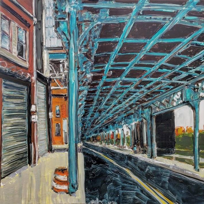 The El, Kensington, Philadelphia PA USA
