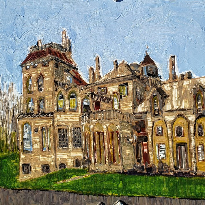 Fonthill Castle, Doylestown PA USA