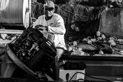 El pescador mecánico.