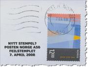 POSTEN NORGE A50 - FEIL ÅRSTALL