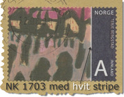Nk 1703 med hvit stripe