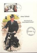 Et MAXI kort med Arne Scheie