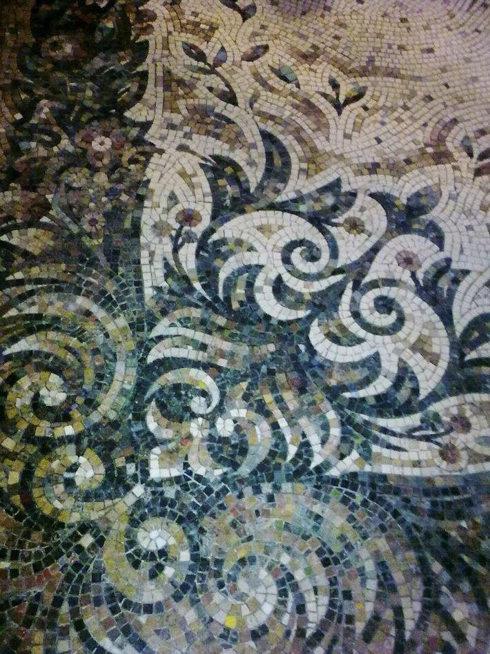 floor mosaic 2010