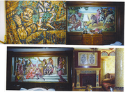 Mosaics & Oil Painted Murals