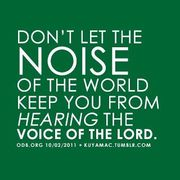 Lord,our ears are open!