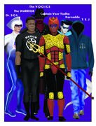 """Key Members of the Super Heroic Group called """"S.P.I.R.I.T."""""""