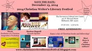 2014 Christian Writers' Literary Festival in Baltimore, MD on 12/13/14