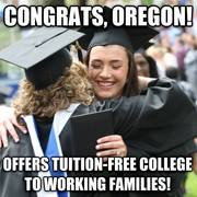 Tuition Free Community College Oregon