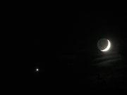 Venus och Månen 081231