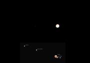 Jupiter + månar 090804