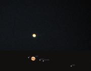 Jupiter + månar 090730