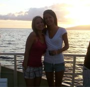 My sis and I in Hawaii