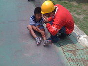 Taiwan Elementary School earthquake Drill