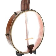 Circa 1850s Boucher style banjo with original hardware