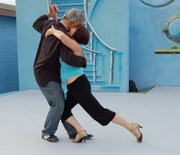 Outdoor Milonga at Showboat, Vancouver, BC, August 23, 2008