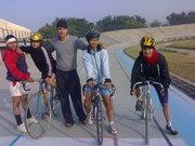 Inter college tournament in Ludhiana velodrome
