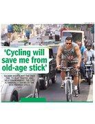 Salman Khan Cycling