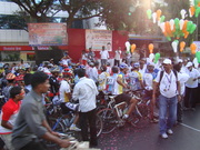 Mumbai Pune cycle race 2012