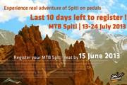 MTB Spiti - last 10 days left for registration - www.mtbspiti.com