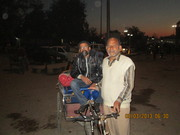 Arrival Amritsar, the city of cycles.