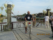 At Hoi An in Vietnam.
