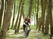 "' Tubelight "" new still : Salman Khan enjoys a bicycle ride with his lil co-star Matin Ray Tangu"