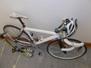Professional assembled cycle along with cycling kit.