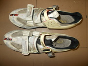 """""""DMT"""" professional cycling shoes."""