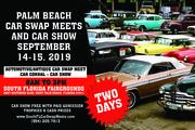 Palm Beach Car Swap and Car Show Meets Returns September 14-15 West Palm Beach