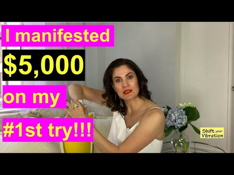 How to Manifest Money Exact Formula Explained! (Law of Attraction Success Story)
