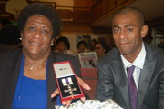 George Finau Sale with his Military Cross medal