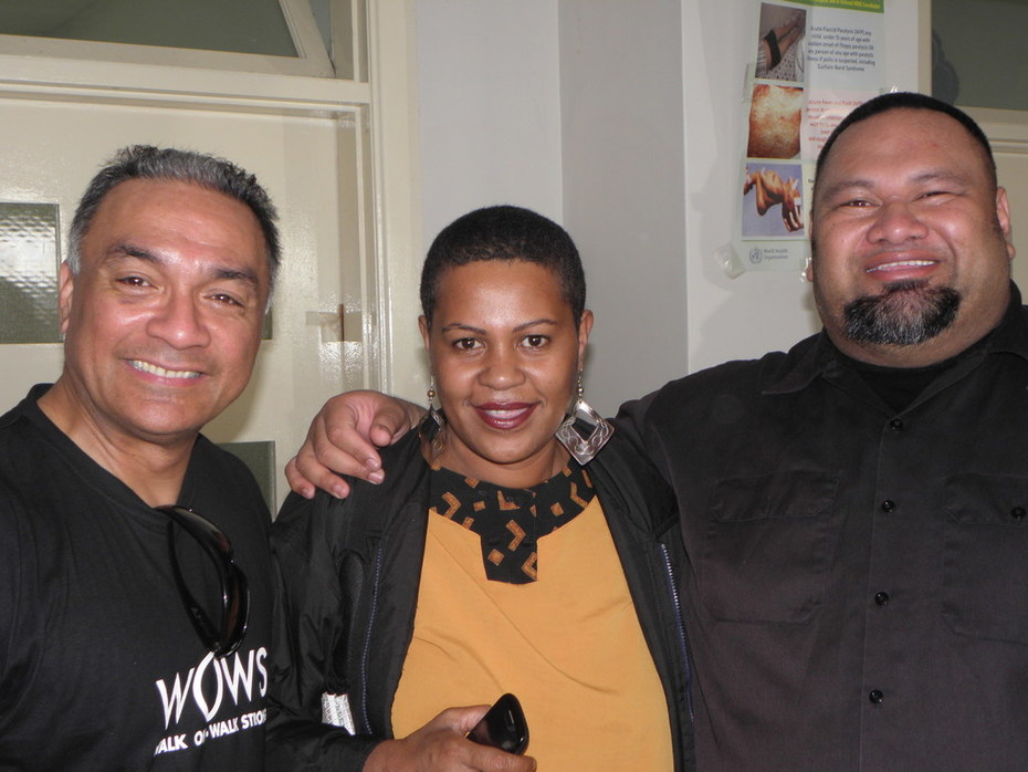 The Laughing Samoans With Maca Lutunauga.