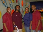 Greg posing with the Strike-fest coordinators