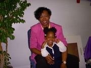 Mama and New New on her B-day