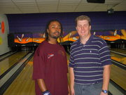 Greg Black Jr. and Randy Russell at Strike-Fest 08