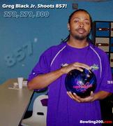 Greg Black Jr. shoots 857!