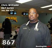 Chris Williams shoots 867