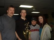 My wonderful family at AMF Marietta when Jake won his 2nd RBT!