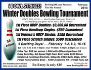Bowling200.com Winter Doubles/Singles Bowling Tourney