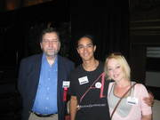 With PZ Myers at AAI 2008