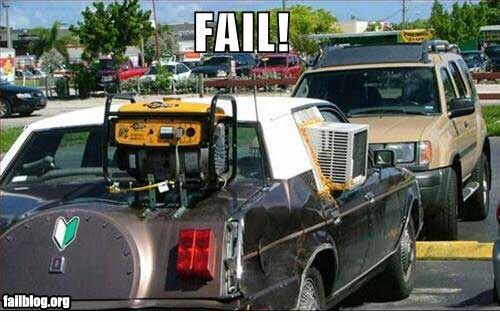 air conditioned auto