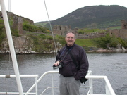 Darrel at Urquart Castle Scotland