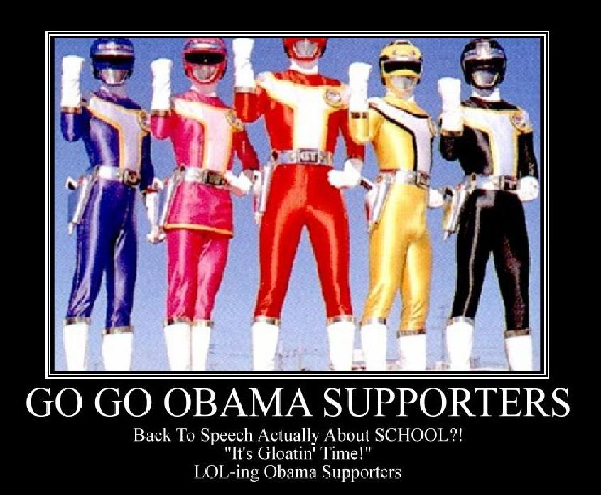 """Obama Supporters: """"It's Gloatin' Time!"""""""