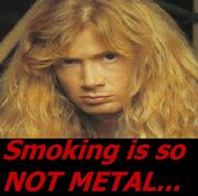 Dave Mustaine On Cigarettes